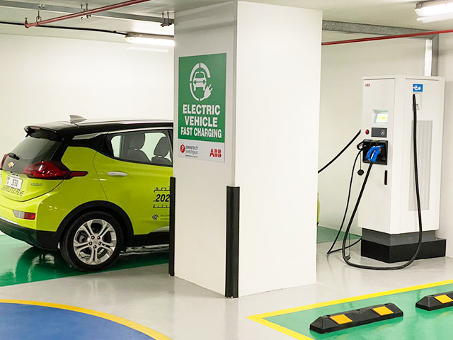 Powertech COMMERCIAL EV Charging Stations